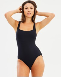 Michael Kors - Lace Up One-Piece