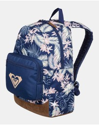 Girls Happy At Home Medium Backpack