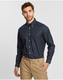 BROOKS BROTHERS - Non-Iron Twill Yarn-Dyed Regent Shirt