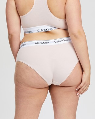 Calvin Klein Modern Cotton Plus Hipster Briefs - Hipster Briefs (Nymphs Thigh)