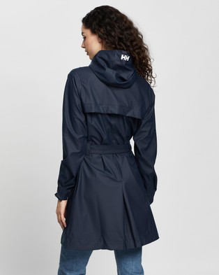 Helly Hansen Kirkwall Raincoat - Coats & Jackets (Navy)