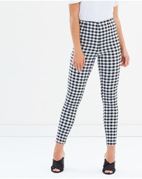 Atmos&Here - Katty Gingham Pants