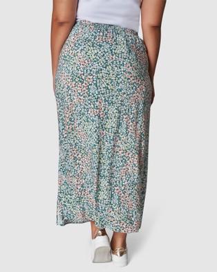 Indigo Tonic Nadia Maxi Skirt - Skirts (GREEN)