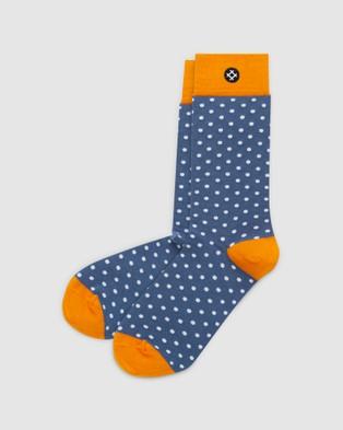 Sockdaily Finer 6 Pack Crew Socks - Underwear & Socks (Multi)