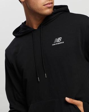 New Balance Essentials Embroidered Hoodie - Hoodies (Black)