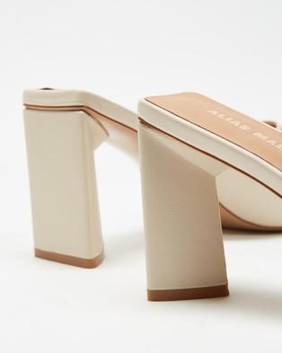 Alias Mae Macy - Heels (Bone Kid Leather)