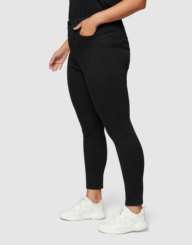 Women Bianca Curve High Rise Ankle Grazer Jeans