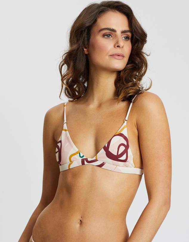 Avery Petite Tri Bikini Top by Skye & Staghorn