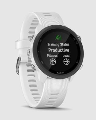 Garmin Forerunner?« 245 Music - Smart Watches (White)