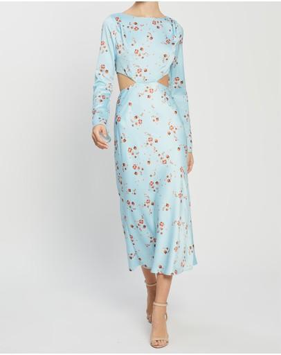 Pasduchas Liberty Midi Dress Azure