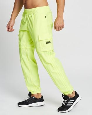 adidas Originals R.Y.V. Utility 2 in 1 Pants - Pants (Solar Yellow)