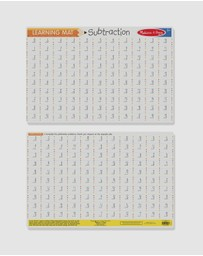 Melissa & Doug - Subtraction Write-A-Mat Bundle of 6