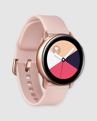 Samsung Galaxy Watch Active - Fitness Trackers (Rose Gold)