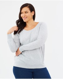 Atmos&Here Curvy - ICONIC EXCLUSIVE - Cassie Lightweight Knit