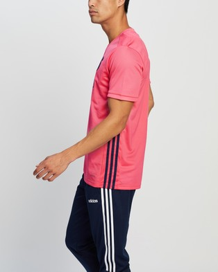 adidas Performance Real Madrid Away Jersey - Soccer (Spring Pink)