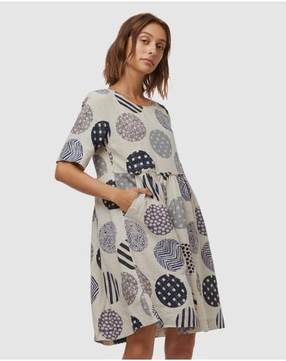 Gorman Endless Spot Smock Dress Print