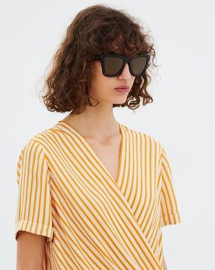 Valley DB II - Sunglasses (Dark Tort & Brown)