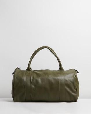 Stitch & Hide Globe Weekender - Travel and Luggage (Olive)