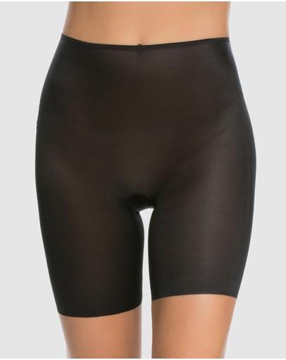 Spanx Skinny Britches Mid-thigh Shorts Black
