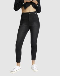 Jac & Mooki - High Rise Skinny Ankle Jeans