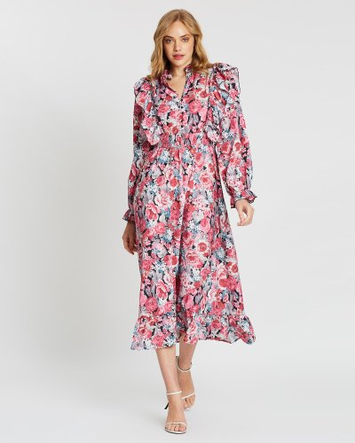 Hillary Floral Maxi