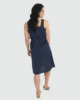Kate Douglas Designs The Abbie Dress - Dresses (Blue)