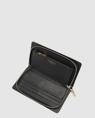 Nakedvice The Dion Pebbled - Wallets (Black)