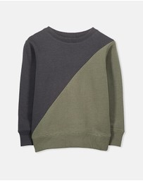 Cotton On Kids - Lachy Crew Jumper