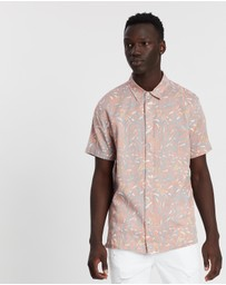 Topman - Misty Rose Floral Shirt