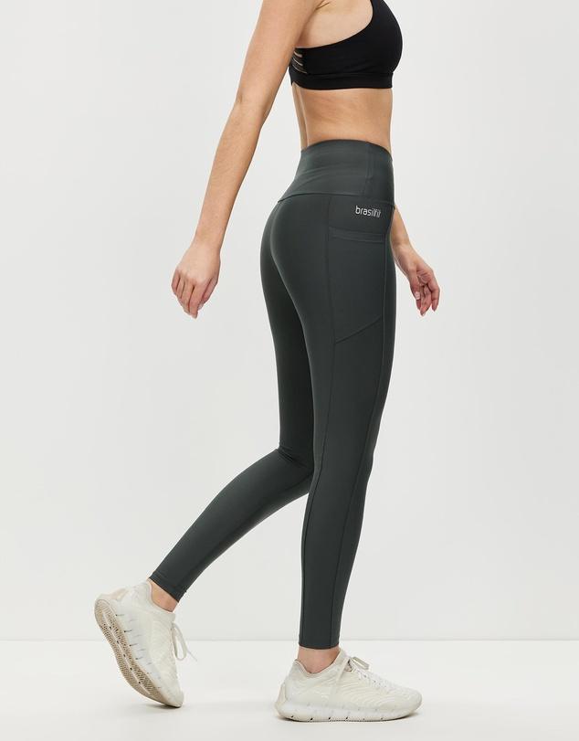 Women High-Waisted Full Length Leggings with Pockets