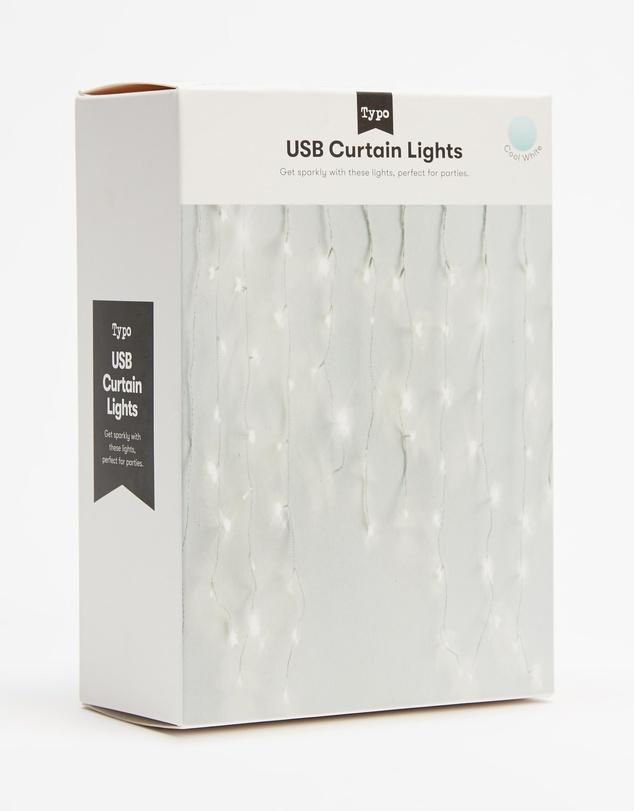 Life USB Curtain Lights