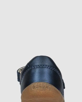 Bobux Step Up Delight Petal - Flats (Navy Shimmer)
