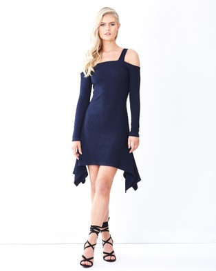 Tussah – Florence Knit Dress – Dresses (Navy)