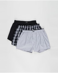 Calvin Klein - 3-Pack Woven Boxers