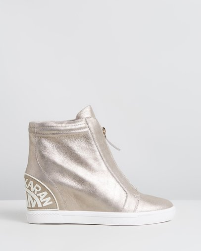 d0fdc3b92da Kayla Wedge Sneakers by Forever New Online