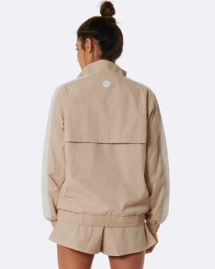 Nicky Kay Kay Two Tone Jacket - Coats & Jackets (Cream)