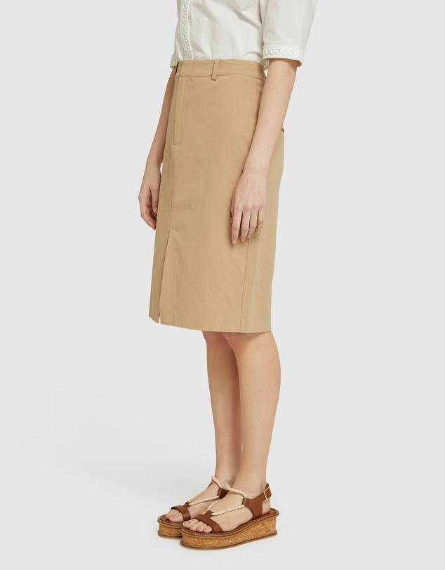 Women Deana Cotton Pencil Skirt
