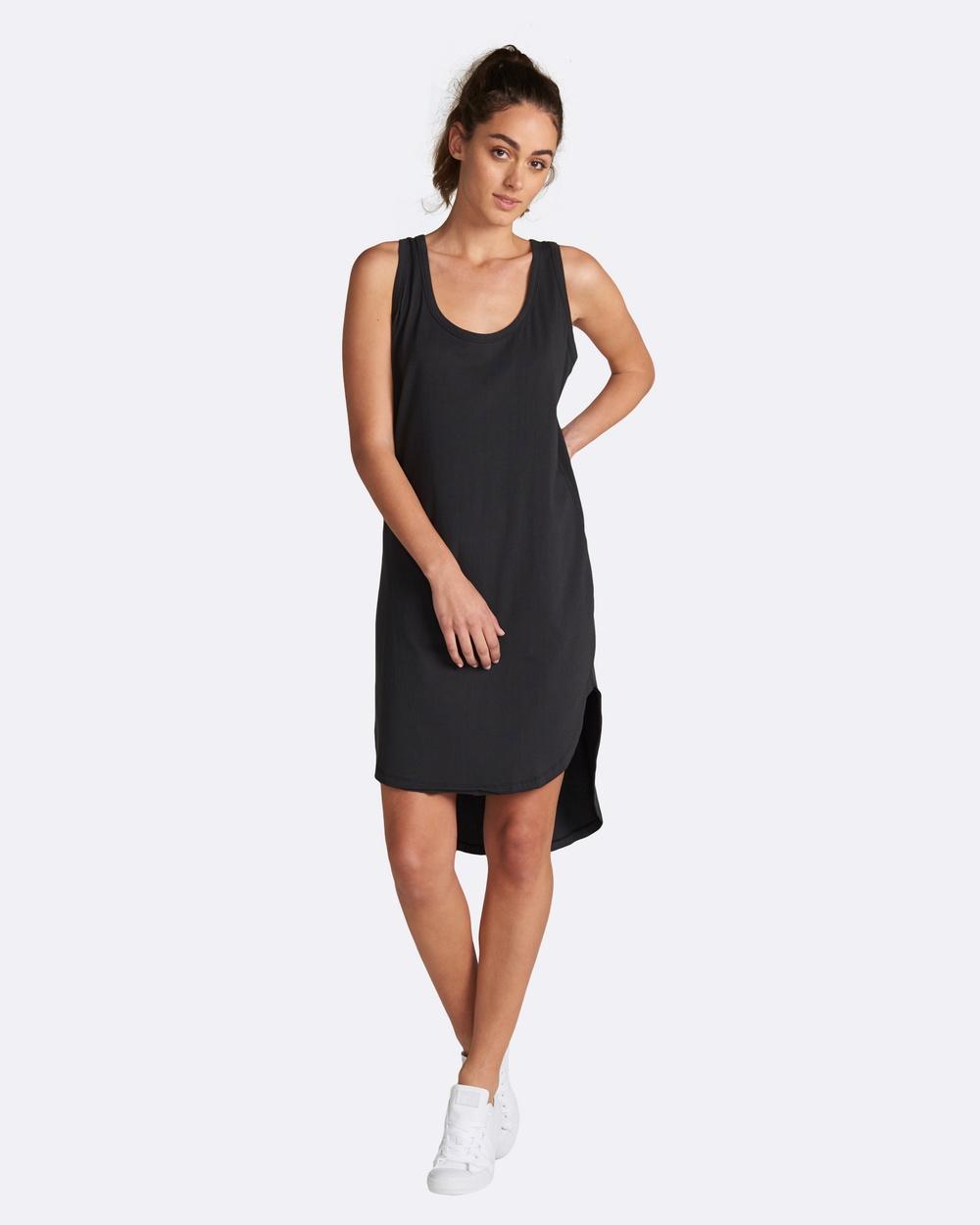 jac + mooki Polly Dress Dresses Black Polly Dress