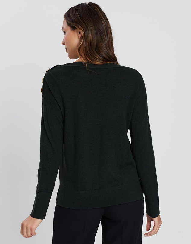 Marcs - Button Shoulder Knit