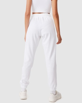 Cotton On Body Active Lifestyle Gym Track Pants - Sweatpants (White)