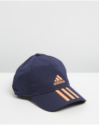 adidas Performance - C40 3-Stripes Climalite Cap