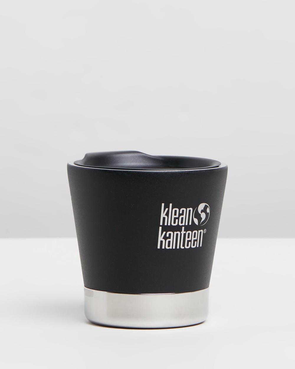 Klean Kanteen 8oz Insulated Tumbler Home Shale Black