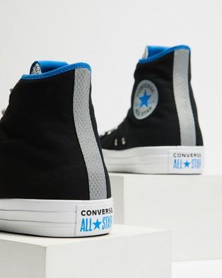Converse Chuck Taylor All Star Digital Terrain High Tops   Men's - Sneakers (Black, Ash Stone & Digital Blue)