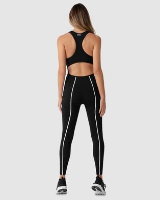 Lorna Jane Speed Full Length Jumpsuit - Jumpsuits & Playsuits (Black)