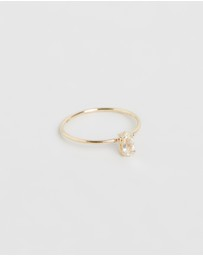 Natalie Marie Jewellery - Tiny Marquise Ring