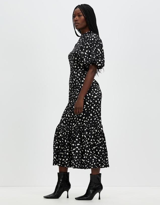 Women Calina 2/4 Puff Calf Dress