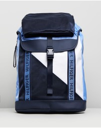 Tommy Hilfiger - Colour Mix Flap Backpack
