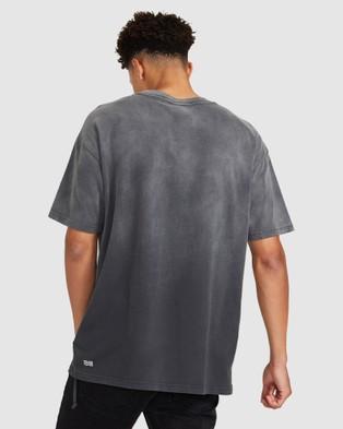 Ksubi Mayhem Biggie T Shirt - Short Sleeve T-Shirts (GREY)