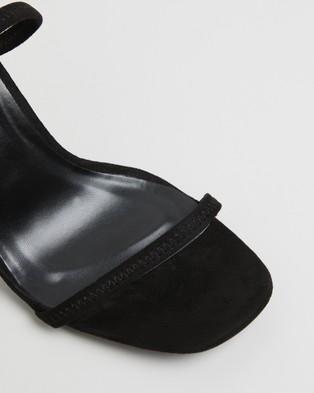 Billini Ziggy - Heels (Black Suede)
