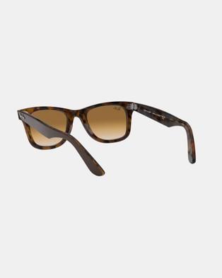 RaBan - Wayfarer RB2140 - Sunglasses (Brown)